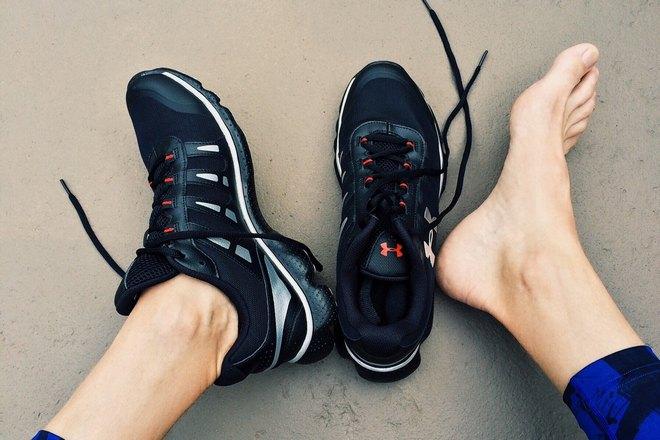 Чешутся ступни в кроссовках