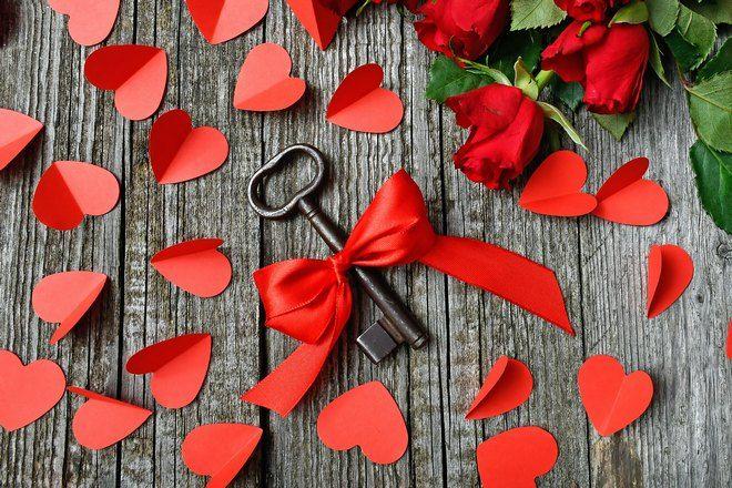 Ключ потерян в сердечках