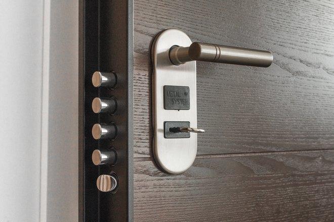 Ключ от металлической двери