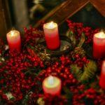 Несколько красных свечей