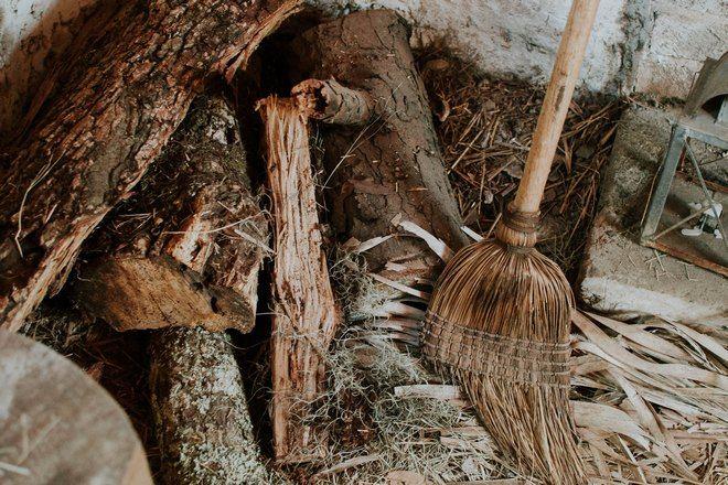 Веник и дрова