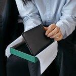 Черный кошелек в коробочке