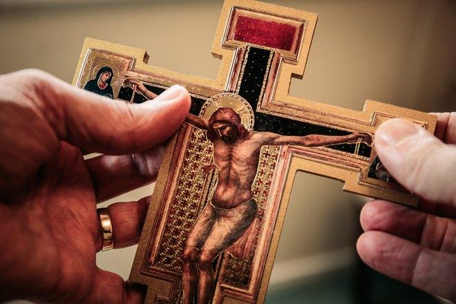 Икона крест