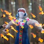 Ритуальное сжигание чучела