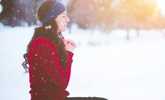 Девушка молит о прощении