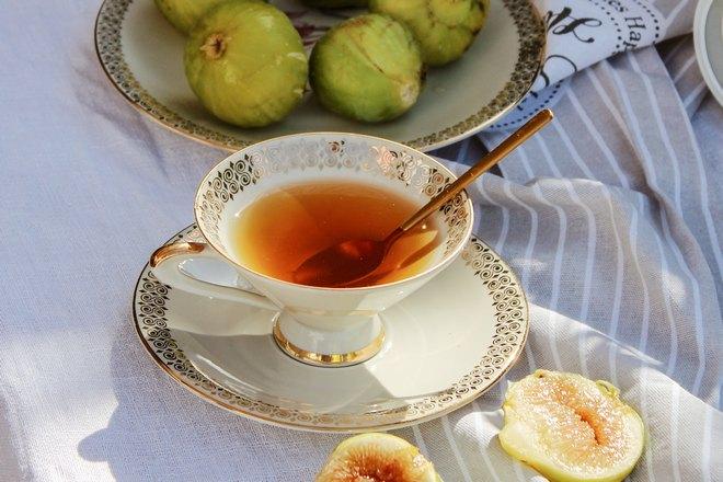 Чашка фруктового чая