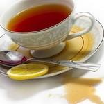 Пролитый лимонный чай