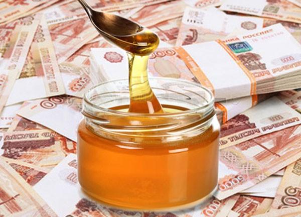 деньги под медом