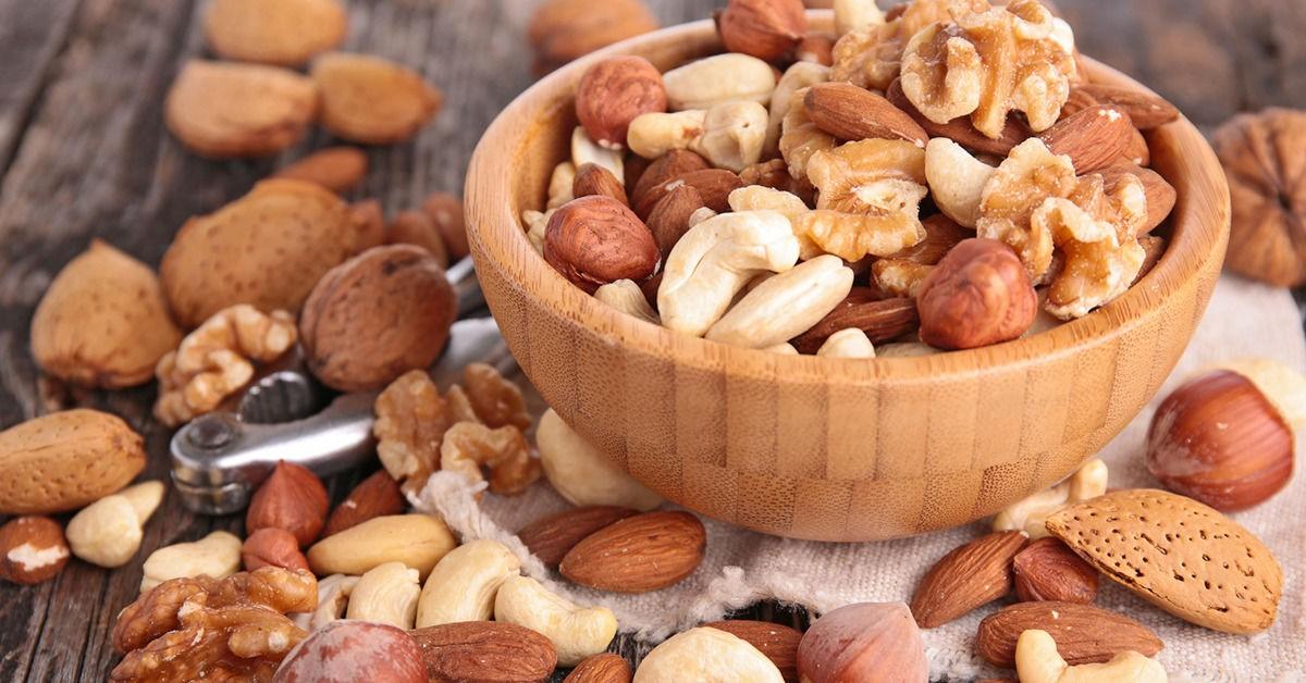 орешки рассыпаны