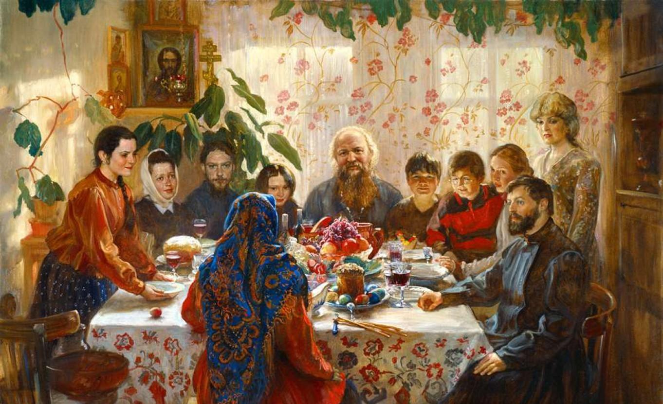 православный обед