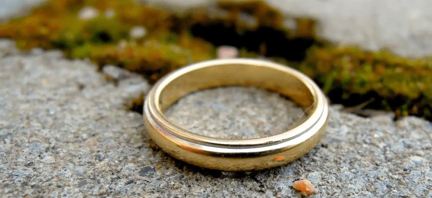 кольцо на дороге