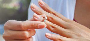 пальцы без кольца