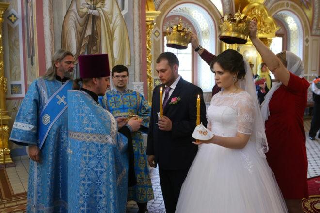 свадьба в православный праздник