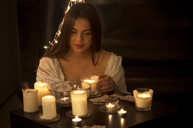 гадания на свечах