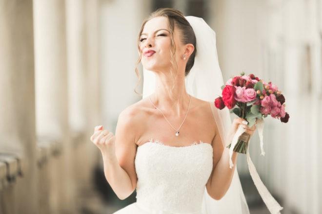 невеста с фотой